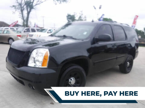 2013 GMC Yukon for sale at GRG Auto Plex in Houston TX