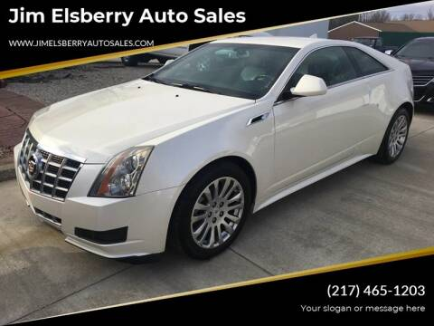 2014 Cadillac CTS for sale at Jim Elsberry Auto Sales in Paris IL