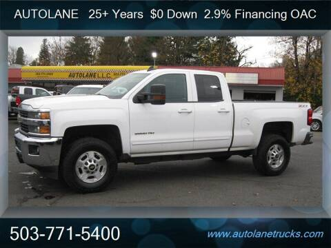 2015 Chevrolet Silverado 2500HD for sale at Auto Lane in Portland OR