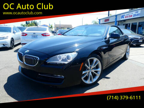 2012 BMW 6 Series for sale at OC Auto Club in Midway City CA