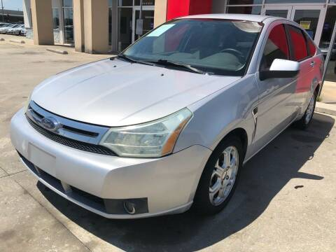 2008 Ford Focus for sale at Thumbs Up Motors in Warner Robins GA