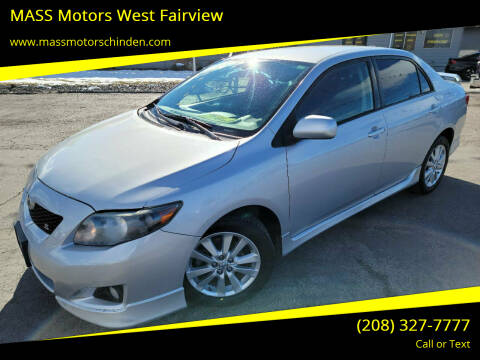 2009 Toyota Corolla for sale at M.A.S.S. Motors - West Fairview in Boise ID