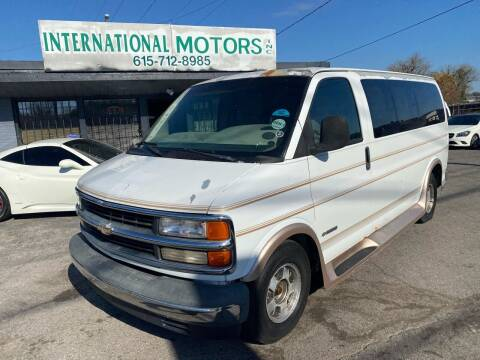 2000 Chevrolet Express Cargo for sale at International Motors Inc. in Nashville TN