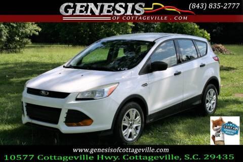 2014 Ford Escape for sale at Genesis Of Cottageville in Cottageville SC