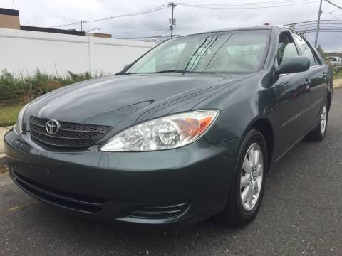 2002 Toyota Camry for sale at New Jersey Auto Wholesale Outlet in Union Beach NJ