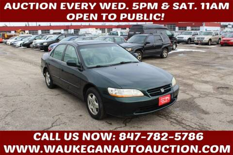 1999 Honda Accord for sale at Waukegan Auto Auction in Waukegan IL