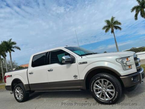 2016 Ford F-150 for sale at MOTORCARS in West Palm Beach FL