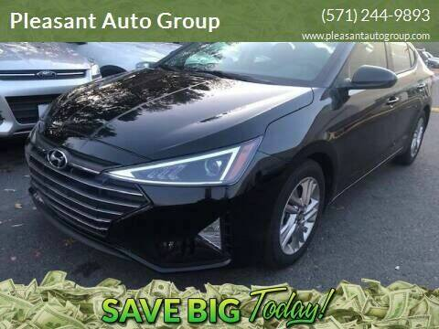 2019 Hyundai Elantra for sale at Pleasant Auto Group in Chantilly VA