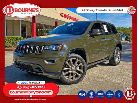2017 Jeep Grand Cherokee for sale at Bourne's Auto Center in Daytona Beach FL
