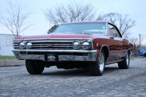 1967 Chevrolet Chevelle Malibu for sale at Great Lakes Classic Cars & Detail Shop in Hilton NY
