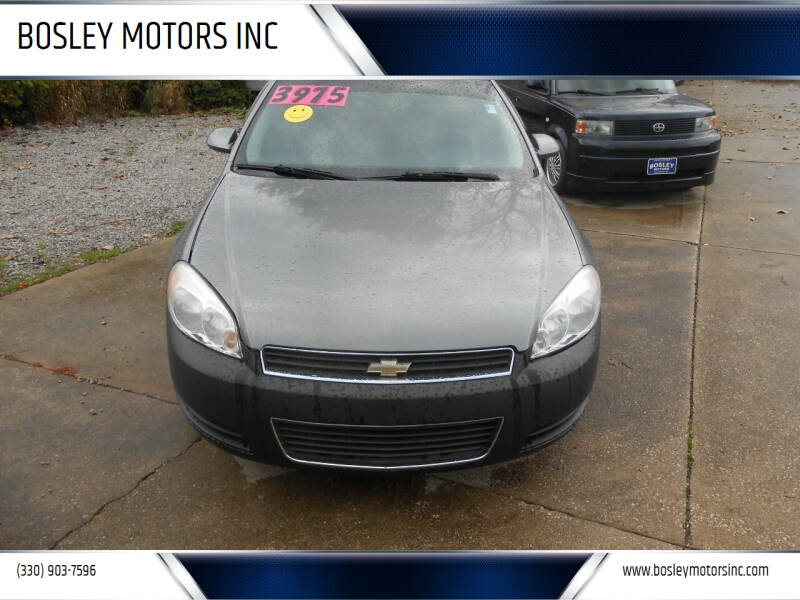 2006 Chevrolet Impala for sale at BOSLEY MOTORS INC in Tallmadge OH