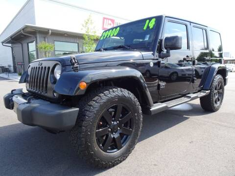 2014 Jeep Wrangler Unlimited for sale at Wholesale Direct in Wilmington NC