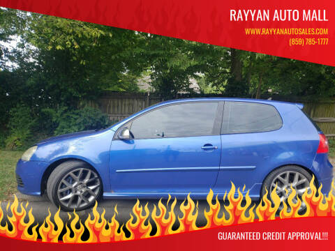2008 Volkswagen R32 for sale at Rayyan Auto Mall in Lexington KY