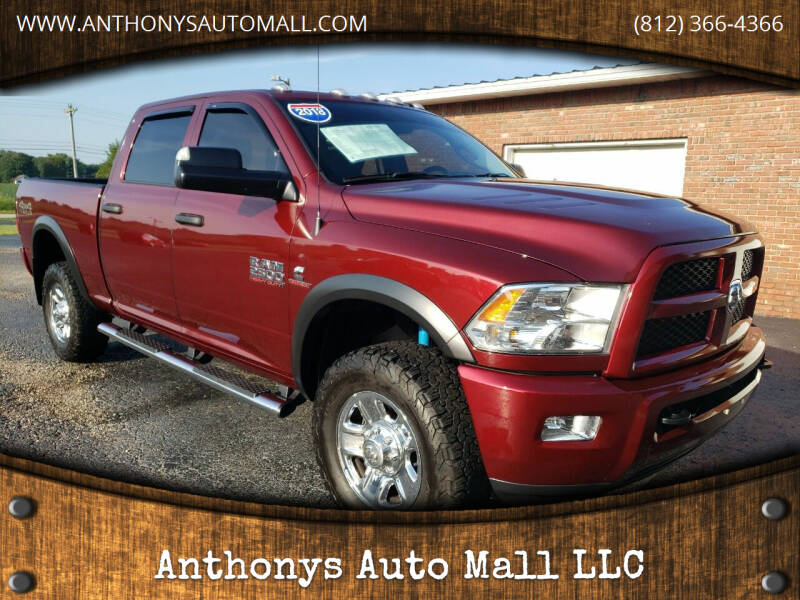 2018 RAM Ram Pickup 2500 for sale at Anthonys Auto Mall LLC in New Salisbury IN