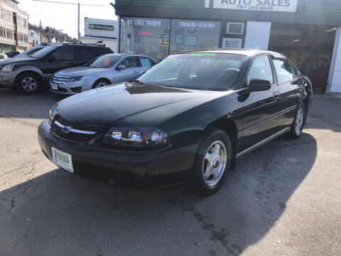 2004 Chevrolet Impala for sale at Wakefield Auto Sales of Main Street Inc. in Wakefield MA
