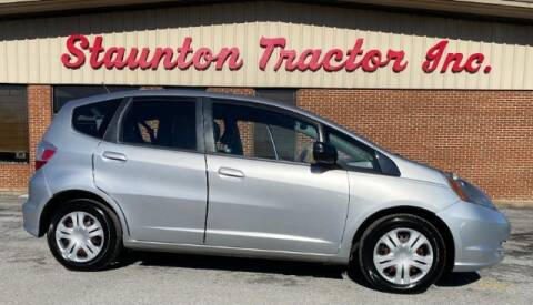 2011 Honda Fit for sale at STAUNTON TRACTOR INC in Staunton VA