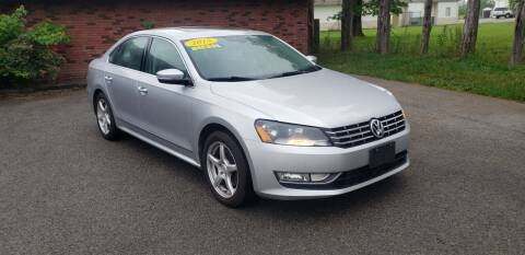 2015 Volkswagen Passat for sale at Elite Auto Sales in Herrin IL