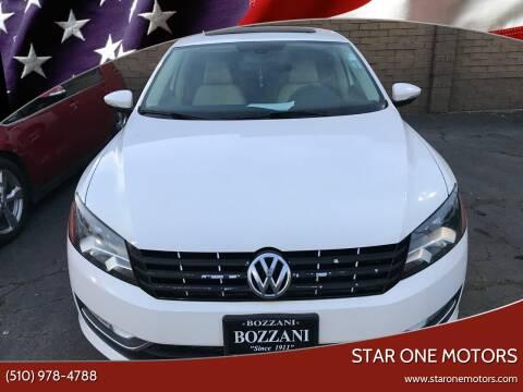 2012 Volkswagen Passat for sale at Star One Motors in Hayward CA