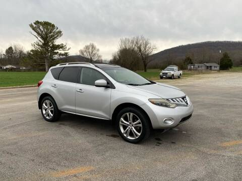 2009 Nissan Murano for sale at Tennessee Valley Wholesale Autos LLC in Huntsville AL