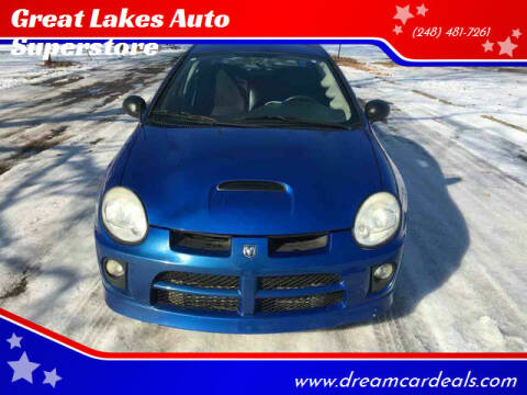 2004 Dodge Neon SRT-4 for sale at Great Lakes Auto Superstore in Pontiac MI
