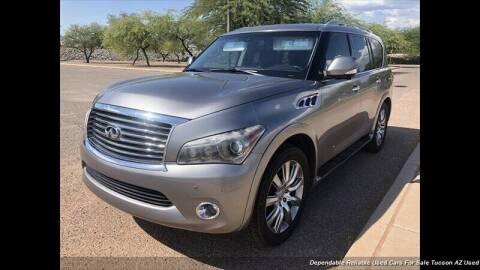 2011 Infiniti QX56 for sale at Noble Motors in Tucson AZ