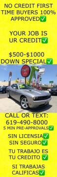 2013 Dodge Challenger for sale at Auto Express in Chula Vista CA