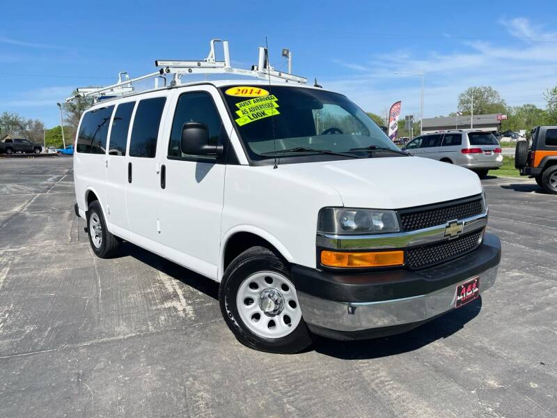 2014 Chevrolet Express Passenger for sale at A & S Auto and Truck Sales in Platte City MO
