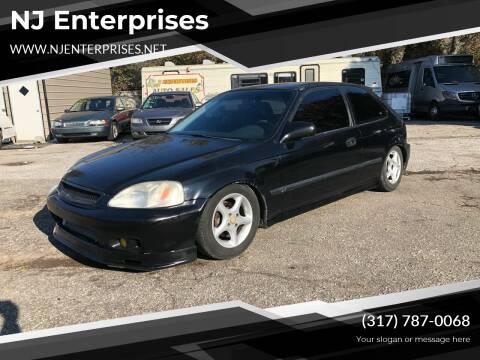 1999 Honda Civic for sale at NJ Enterprises in Indianapolis IN