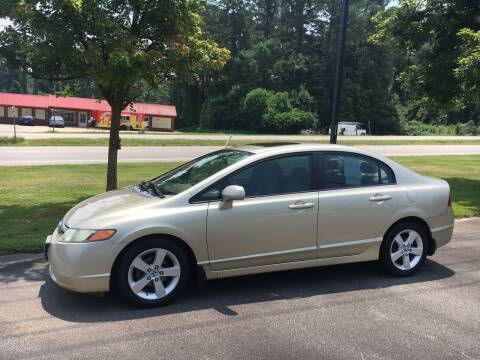 2008 Honda Civic for sale at O'Quinns Auto Sales, Inc in Fuquay Varina NC