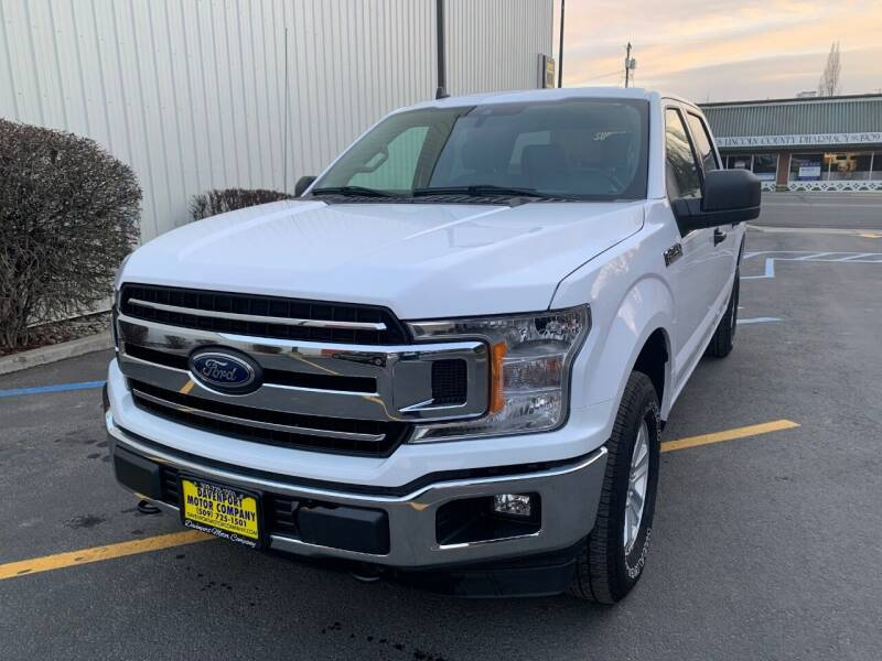 2020 Ford F-150 for sale at DAVENPORT MOTOR COMPANY in Davenport WA