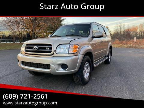 2002 Toyota Sequoia for sale at Starz Auto Group in Delran NJ