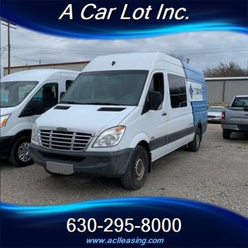 2011 Freightliner Sprinter Crew for sale at A Car Lot Inc. in Addison IL
