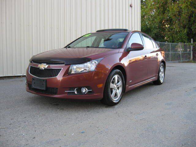 2012 Chevrolet Cruze for sale at Jareks Auto Sales in Lowell MA