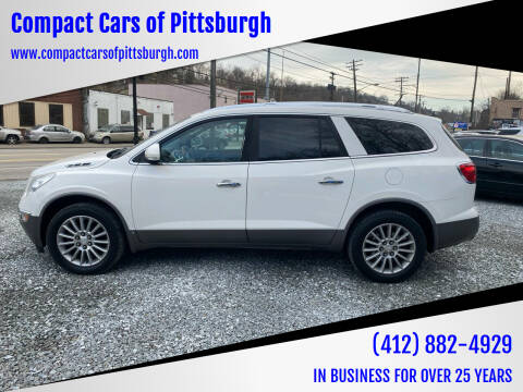 2009 Buick Enclave for sale at Compact Cars of Pittsburgh in Pittsburgh PA