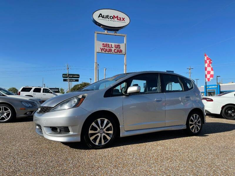 2012 Honda Fit for sale at AutoMax of Memphis - V Brothers in Memphis TN
