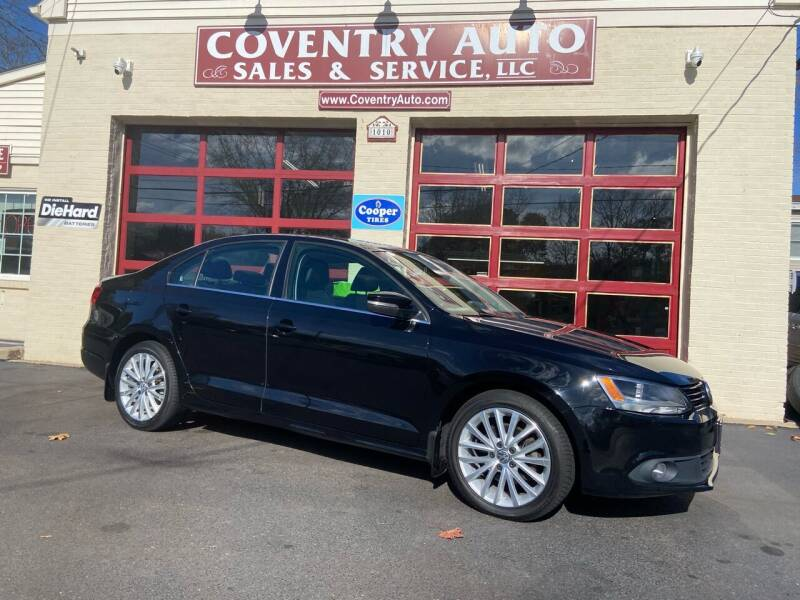 2013 Volkswagen Jetta for sale at COVENTRY AUTO SALES in Coventry CT