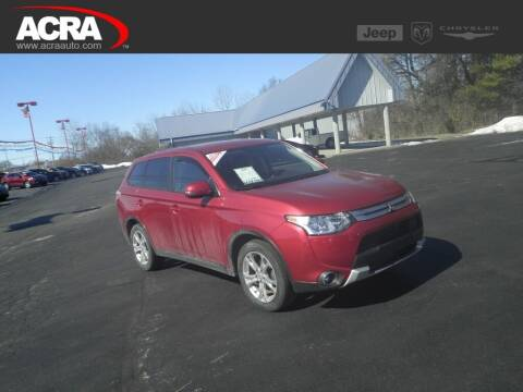 2015 Mitsubishi Outlander for sale at BuyRight Auto in Greensburg IN