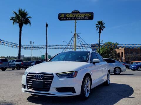 2016 Audi A3 for sale at A MOTORS SALES AND FINANCE - 10110 West Loop 1604 N in San Antonio TX