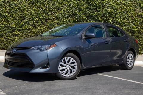2018 Toyota Corolla for sale at 605 Auto  Inc. in Bellflower CA