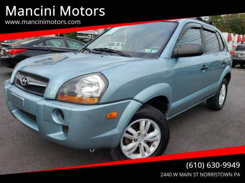2009 Hyundai Tucson for sale at Mancini Motors in Norristown PA