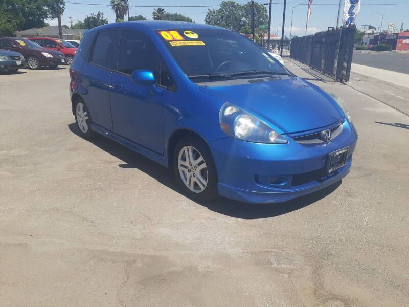 2008 Honda Fit for sale at COMMUNITY AUTO in Fresno CA