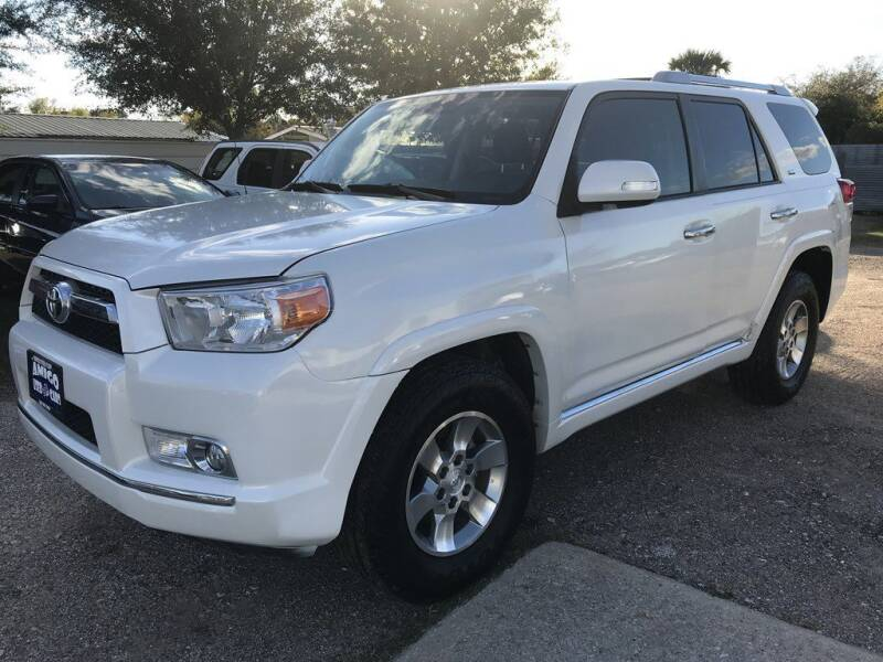 2012 Toyota 4Runner for sale at AMIGO USED CARS in Houston TX