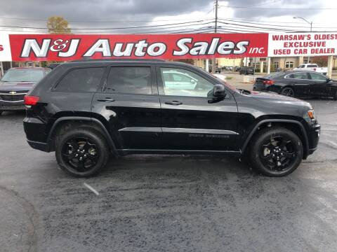 2018 Jeep Grand Cherokee for sale at N & J Auto Sales in Warsaw IN