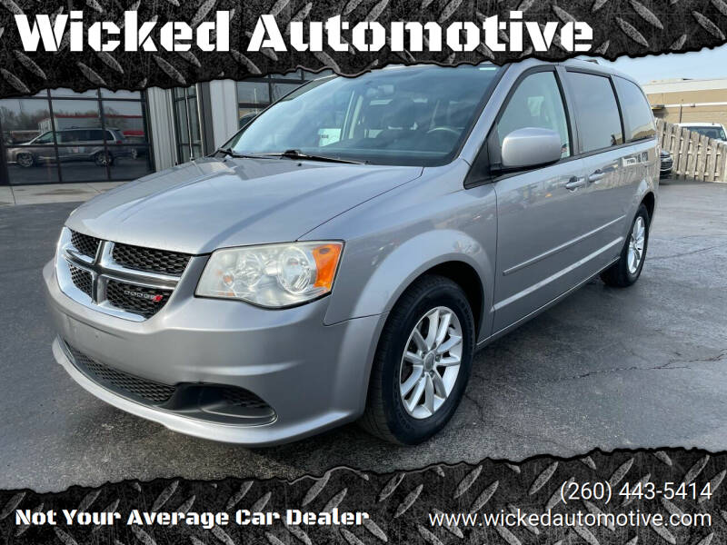 2013 Dodge Grand Caravan for sale at Wicked Automotive in Fort Wayne IN