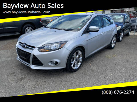 2014 Ford Focus for sale at Bayview Auto Sales in Waipahu HI