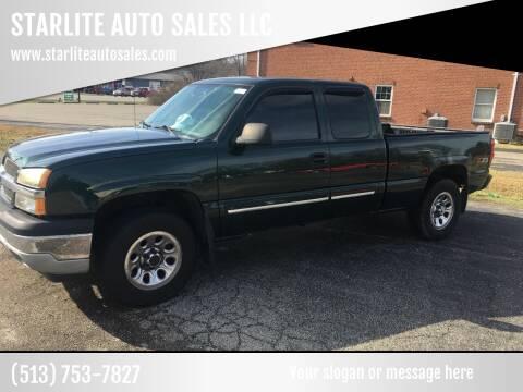 2005 Chevrolet Silverado 1500 for sale at STARLITE AUTO SALES LLC in Amelia OH