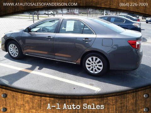 2013 Toyota Camry for sale at A-1 Auto Sales in Anderson SC