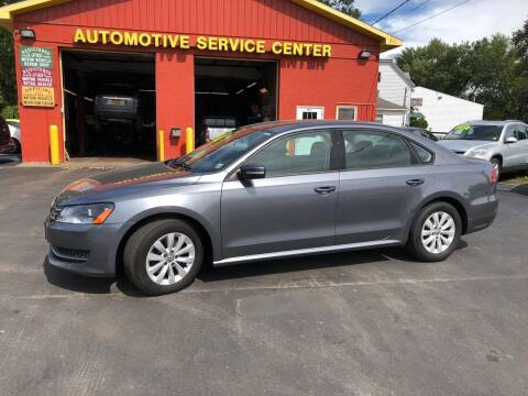 2013 Volkswagen Passat for sale at ASC Auto Sales in Marcy NY
