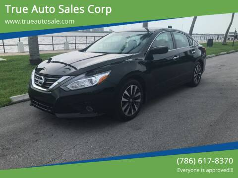 2016 Nissan Altima for sale at True Auto Sales Corp in Miami FL