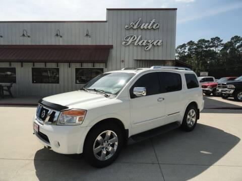 2011 Nissan Armada for sale at Grantz Auto Plaza LLC in Lumberton TX